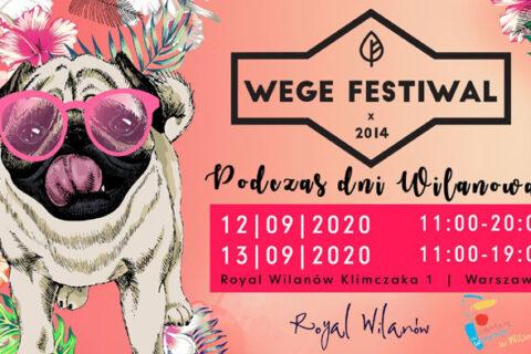 Wege Festiwal podczas Dni Wilanowa 12-13 września